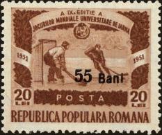 Romania Scott #847, 1952, Never Hinged - Ungebraucht