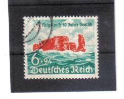 DEL1457 DEUTSCHES REICH 1940  MICHL  750  Used / Gestempelt Siehe ABBILDUNG - Deutschland