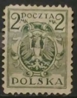POLONIA 1920 -1922. Eagle On Shield. USADO - USED. - 1919-1939 República