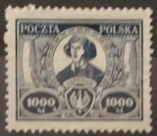 POLONIA 1923. The 450th Anniversary Of The Birth Of Nikolaj Kopernik. NUEVO SIN GOMA (*) - 1919-1939 República