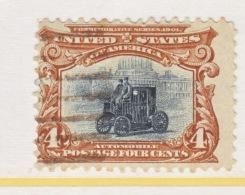 U.S. 296   (o)  ANTIQUE  ELECTRIC  CAR     PAN-AMERICAN  EXPO.    1901  BUFFALO, N.Y. - Universal Expositions