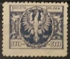 POLONIA 1924. Eagle On Large Shield. NUEVO SIN GOMA (*) - 1919-1939 República