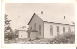 Eglise Unie, Inverness, Quebec  United Church  Photo Veritable - Quebec
