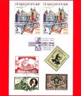 Cartolina Non Viaggiata - Esperanto - Postkarto - Francobolli - Espero - 100 Anni - Esperanto
