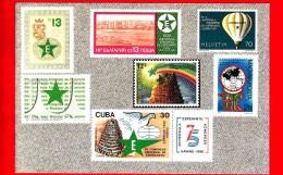 Cartolina Non Viaggiata - Esperanto - Postkarto - Francobolli - Espero - Congresso Mondiale - Esperanto