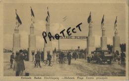 HOFSTADE BADEN : HOOFDINGANG    ( Geschreven Kaart Met Zegel 1941 ) - Belgique