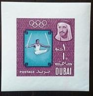 DUBAI Jeux Olympiques MEXICO 68. Yvert Bf N° 16 ** MNH. Gymnastique - Verano 1968: México