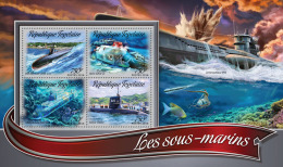 TOGO 2016 ** Submarines U-Boote Sous-marins M/S - OFFICIAL ISSUE - A1637