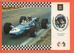 Automobiles - Voitures De Courses - N°8 Série Gran Prix  - Jackie Stewart Gran Bretana - Cartes Postales