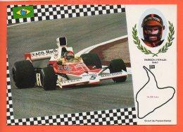 Automobiles - Voitures De Courses - Emerson Fifitaldi Brésil Circuit De Francorchamps - Cartes Postales