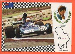 Automobiles - Voitures De Courses - Tim Scheken Australie Circuit De Montjuich - Cartes Postales