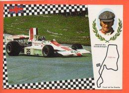 Automobiles - Voitures De Courses - Graham Hilll Grande Bretagne Circuit De Van Drenthe - Cartes Postales