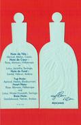 Cartes Parfumées Carte FLEUR D´EAU De  ROCHAS RÉPLIQUE FLACON - Modern (from 1961)