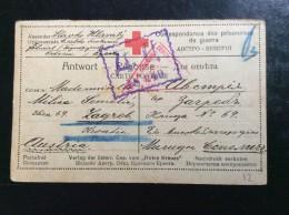 RUSSIA   PRISONERS  CAMP   PRISONNIERS DE GUERRE  ODESSA  1916
