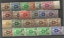 16SERIE DE LONDRES  Trace De Charniere    (283) - Cameroun (1915-1959)