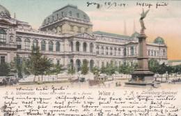 Wien I. - K.K. Universität - Liebenberg-Denkmal * 18. 3. 1904 - Vienna