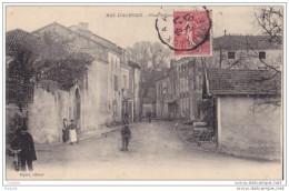 MAR- MAS D'AGENAIS  EN LOT ET GARONNE  PLACE SCHENIDER    CPA  CIRCULEE - France