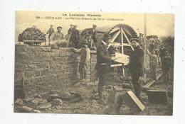 Cp, REPRODUCTION , Le Pont De Chemin De Fer En Construction , OGEVILLER , 54 , C´était La France, Ed : Cecodi , N°991 - Ouvrages D'Art