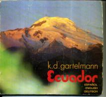 ECUADOR EQUATEUR ESPANOL ENGLISH DEUTCH PHOTOS - Catalogues