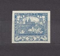Czechoslovakia Tschechoslowakei 1918 MNH ** Mi 5 Sc 5 Hradcany At Prague - Tschechoslowakei/CSSR