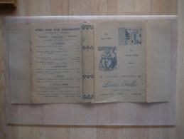 PROTEGE LIVRE LIBRAIRIE PAPETERIE LOUIS SALLE BD VICTOR HUGO NIMES - Stationeries (flat Articles)