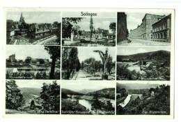 12996 Cpa   SOLINGEN , Superbe  Carte Photo Multivues  1942 - Solingen