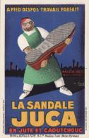 La Sandale Juca En Jute Et Caoutchouc - Mauléon Soule - Appalaspe - Par G. Favre - Pubblicitari