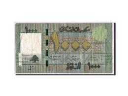 Lebanon, 1000 Livres, 2011, KM:90, TB - Liban
