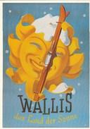REPRO  PLAKAT  D'AFFICHE   WALLIS DAS LAND DER SONNE - VS Wallis