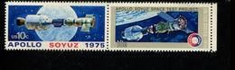 400406456 USA DB 1975 POSTFRIS MINT NEVER HINGED POSTFRISCH EINWANDFREI SCOTT 1570a Apollo Soyuz Space - Unused Stamps