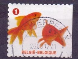 Belgie - 2012 - OBP - 4233 - Gezelschapsdieren - Gestempeld - Zonder Papierresten - Used Stamps
