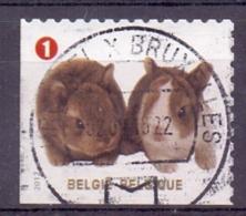 Belgie - 2012 - OBP - 4238 - Gezelschapsdieren - Gestempeld - Zonder Papierresten - Used Stamps