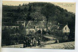 89 AVALLON La Ferme Des Nids Lavandiere Brouette Et Anim 1910    /D13-2016 - Avallon