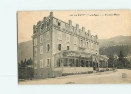 LE FAYET : Terminus Hôtel. 2 Scans. Edition Soly - Autres Communes