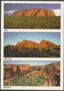 Australie Northern Territory Uluru Kata Tjuta Watarrka Kings Canyon - Wombat - Oblitération Alice Springs - Uluru & The Olgas