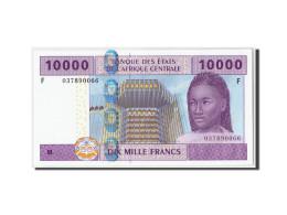États De L'Afrique Centrale, Guinée Equatoriale, 10,000 Francs, 2002, KM:510Fa, - États D'Afrique Centrale
