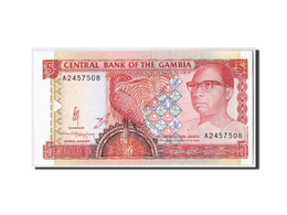 The Gambia, 5 Dalasis, Undated (1991-95), KM:12a, NEUF - Gambie