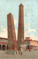 ITALIE BOLOGNA LE DUE TORRI CARTE PRECURSEUR CIRCULEE 1903 - Bologna