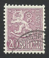 Finland, 20 M. 1954, Sc # 319, Used - Finland