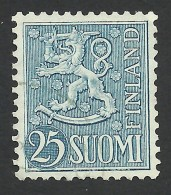 Finland, 25 M. 1954, Sc # 321, Used - Finland