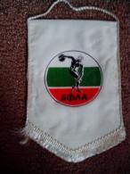 RARE FLAG ATHLETICS BFLA OFFICIAL BULGARIAN FEDERATION ATHLETICS LOW PRICE - Athlétisme