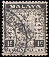 MALAYA Negri Sembilan - Scott #21 Arms / Used Stamp - Negri Sembilan