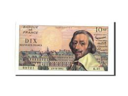 France, 10 Nouveaux Francs, 10 NF 1959-1963 ''Richelieu'', 1959, 1959-10-15,... - 1959-1966 Nouveaux Francs