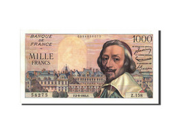 France, 1000 Francs, 1 000 F 1953-1957 ''Richelieu'', 1955, 1955-06-02, KM:13... - 1871-1952 Circulated During XXth