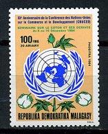 Rep. Madagascar**  N° 729 - 20e Ann. De La Conférence Des Nations Unis Sur Le Commerce Et Le Développement - Madagascar (1960-...)