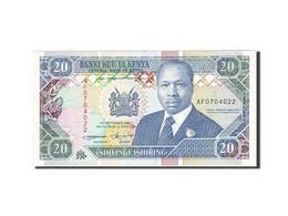 Kenya, 20 Shillings, 1993, KM:31a, 1993-09-14, SUP - Kenya
