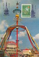 D25974 CARTE MAXIMUM CARD RR 1958 MOÇAMBIQUE - WORLD EXPO BRUSSELS CP ORIGINAL