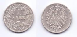 Germany 1 Mark 1875 G - [ 2] 1871-1918 : German Empire