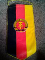RARE FLAG DDR DVFL GERMANY ATHLETICS FEDERATION UNIQUE - Athlétisme