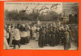 14 VICTOT-PONTFOL - Monseigneur Lemonnier Bénisant Ses Petits Enfants (en L'état) - Autres Communes